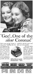 Corona ad, Popular Mechanics, Dec, 1934