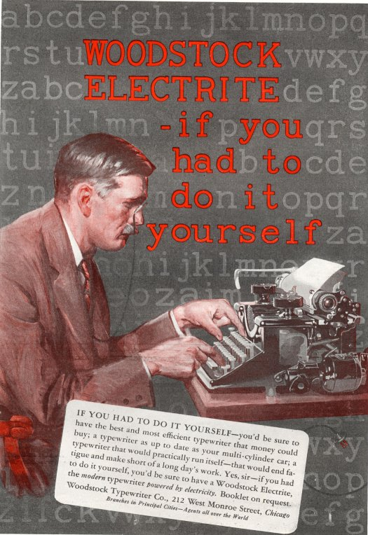 Machines Of Loving Grace Typewriter Ephemera