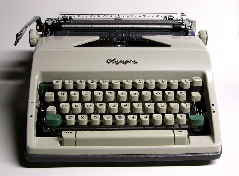 Image result for Olympia manual typewriter