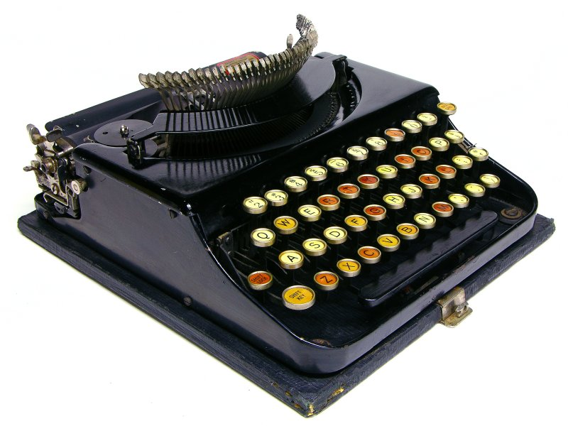 remington typewriter model 1