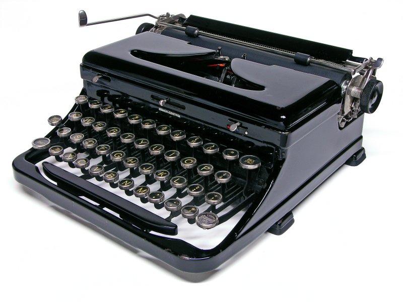 Wonderful Vintage Royal Portable Typewriter Part - 2: Royal Portable Model O