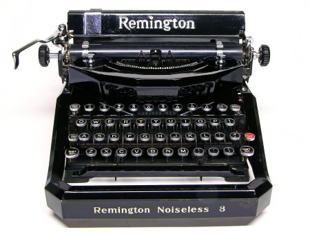 Remington Noiseless 8, front view