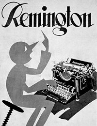 Remington 12 ad, 1928